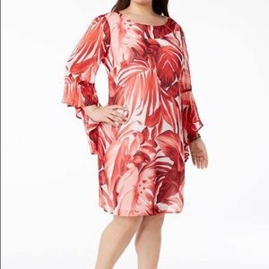 Connected Apparel Coral Bell Sleeve